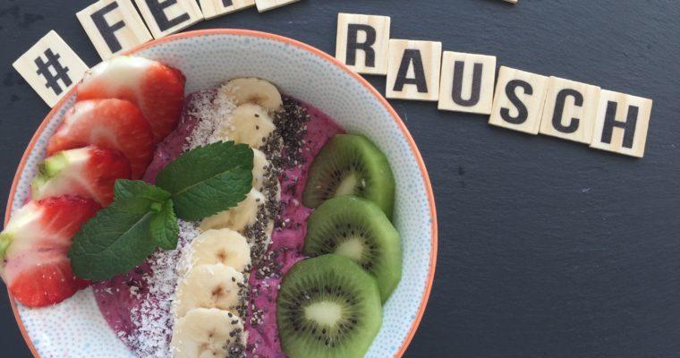Smoothie Bowl – frisches fruchtiges Frühstück