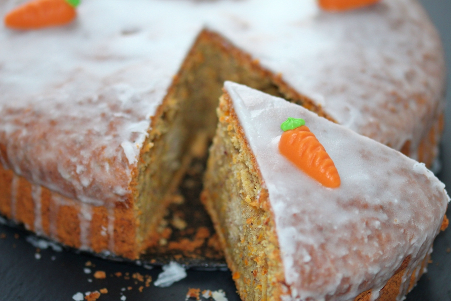 Mohre Nuss Kuchen Oder Auch Rublikuchen Karottenkuchen Oder Carrot
