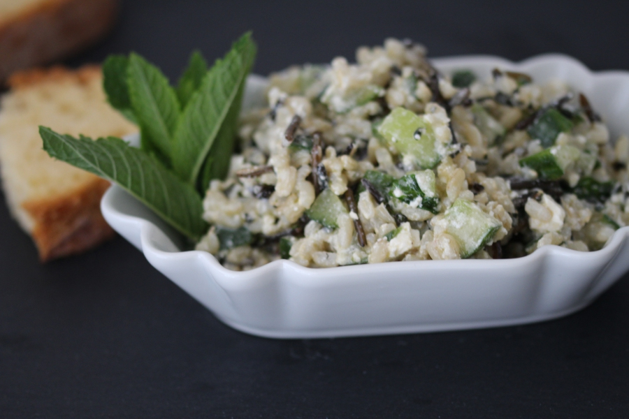 Wildreissalat mit Minze – der frische Grillsalat