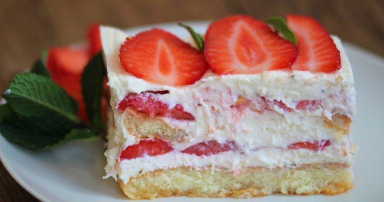 Erdbeer-Tiramisu: die fruchtige Variante