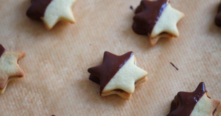 Nougat-Sterne: die perfekten Weihnachtsplätzchen für Schokoliebhaber
