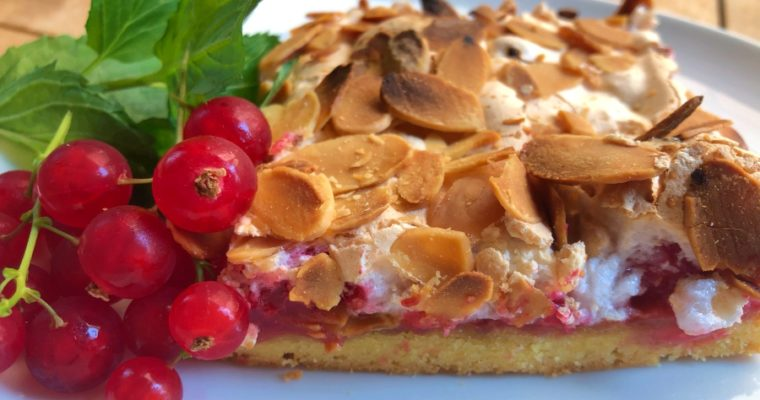 Johannisbeer-Baiser-Kuchen: mein Sommertraum Kuchen