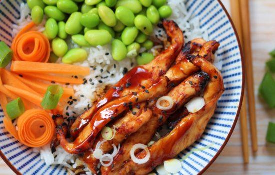 Chicken Teriyaki Bowl – der japanische Klassiker